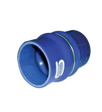 Coupleur Silicone Flex 80mm LG100mm Bleu ou Noir