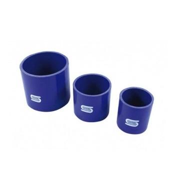 Coupleur Silicone 80mm LG100mm Bleu Ou Noir