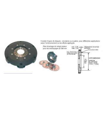Usinage volant moteur pour Mécanisme Ap-racing