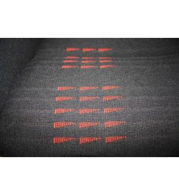 Tissu de siège Gt turbo Phase 2 fanion rouge